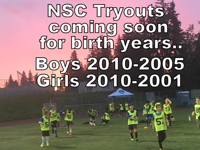 NSC Tryouts for the 2019/2020 Season